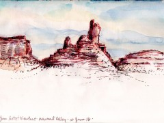Monument Valley Artists Viewpoint 6 10 16